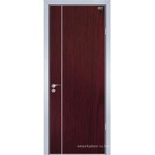 Меламин деревянная дверь (ЖЛ-E009C)