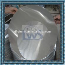 Desenho profundo Folha de alumínio em círculo para uso em cozinha, círculo de alumínio para utensílios de cozinha