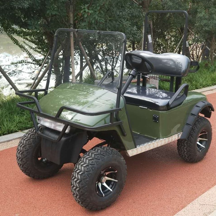 2-persoons off-road golfkar