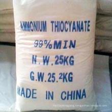 White Crystalline Ammonium Thiocyanate with Lowest Price
