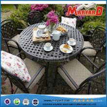 Гуандун мебель садовые столы и стулья мебель литого алюминия стула