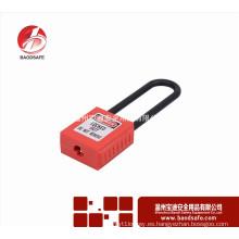 Wenzhou BAODSAFE 76mm largo no conductivo candado de seguridad de grillete BDS-S8631