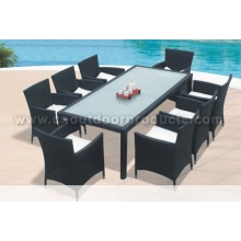 Outdoor Patio Rattan Dining Tables