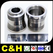 Pièces en acier inoxydable en acier inoxydable / aluminium / laiton / métal CNC