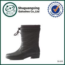western rubber rain boots fish rain boots warm boots B-808