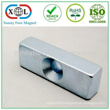 N52 grade strong block shaped industrial Magnet