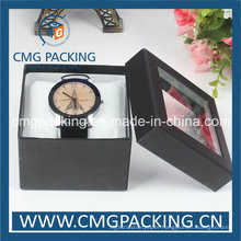 Hard Cardboard Watch Packing Box with Pillow Insert