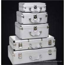 Caja de equipo de aleación de aluminio de alta calidad personalizable con diferentes tamaños