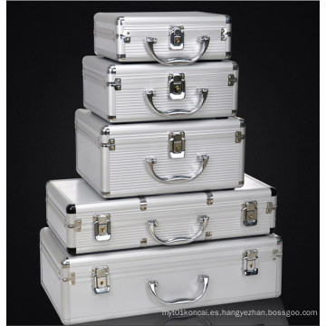 Caja de herramientas adaptable de la aleación de aluminio de la alta calidad con diverso tamaño