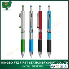 Aluminium coloré 3 en 1 stylo