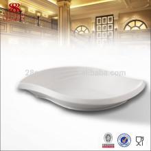 Оптовая отель посуда предметы, форма листа Китай плиты