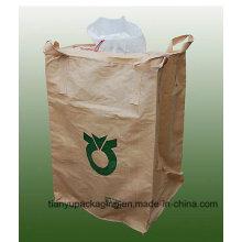 1 Ton Jumbo Bags Cross Corner Loop, с УФ покрытием