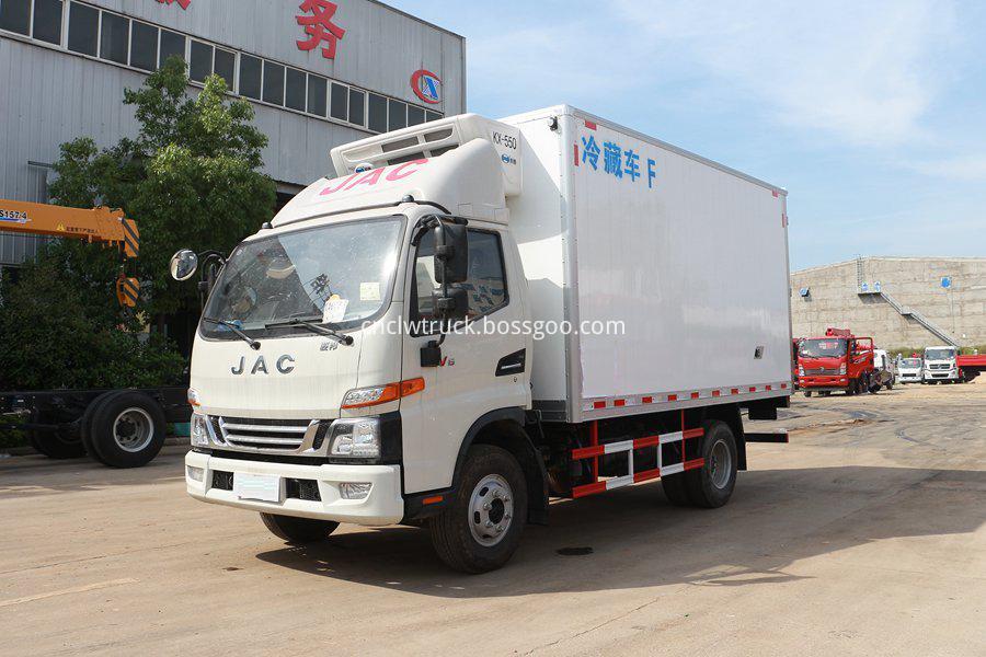 JAC refrigerated van 2