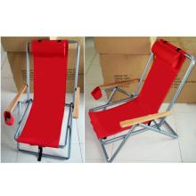 Выдвиженческий складной стул-рюкзак с подушкой (СП-154)