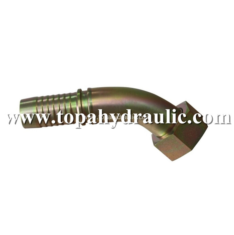 Swivel flexible vacuum hydraulic hose air line fittings