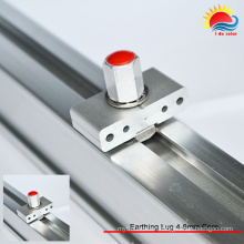 Factory Price Aluminum Material End Clamp (ZX045)