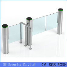 Wide Access Turnstile Gates Supermarket Swing Barrier