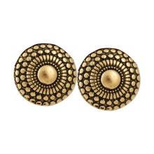 Мода африканские золотые серьги, этнические индийские серьги стержня
