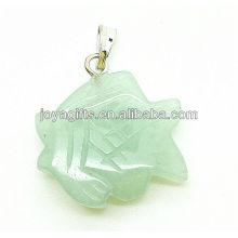 Фигура зелёная Авантюрин подвеска
