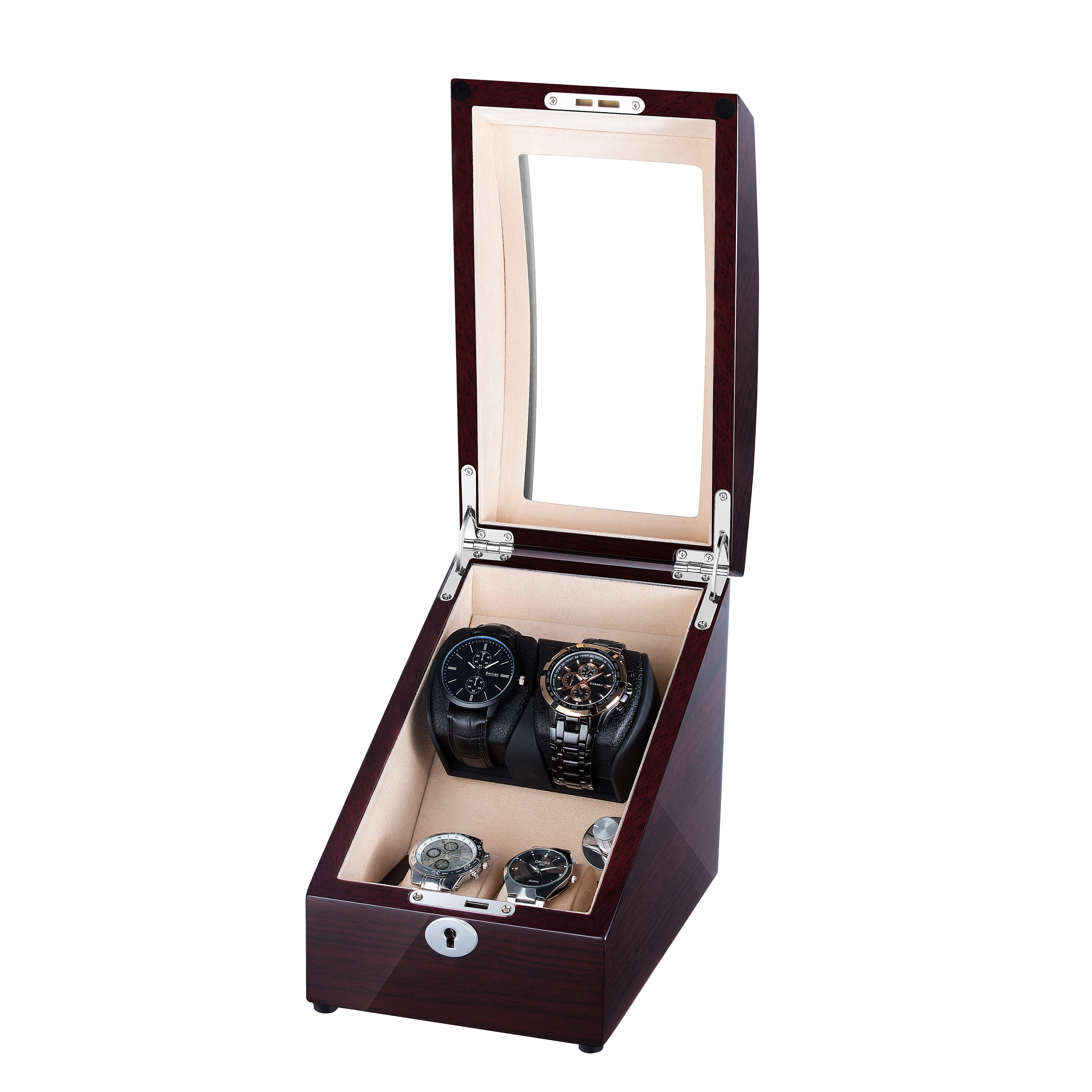 Watch Winder For 4 Watches