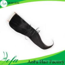 Wholesale Unprocessed Stright Hair Brazilian Virgin Human Hair Closure