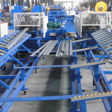 Roll shutter door making roll forming machine