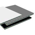 FVDF COATING Aluminiumstrukturplatte für Fassade