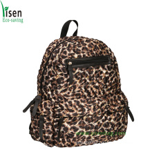 Fashion Leopard Laptop Backpack (YSBP03-086)