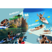 Hot Selling Basic Plastic Single Fishing Boat