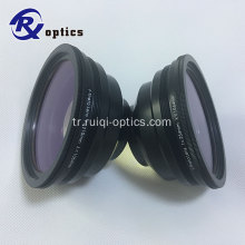 70 * 70mm 1064nm YAG F-Teta Lensi