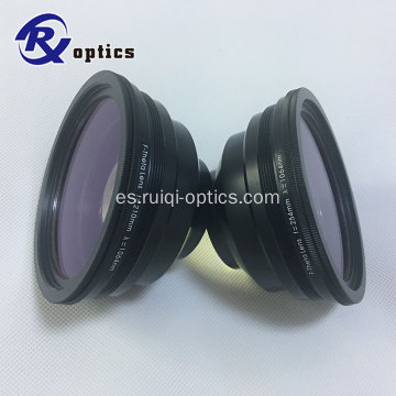 70 * 70 mm 1064nm YAG F-theta Lens