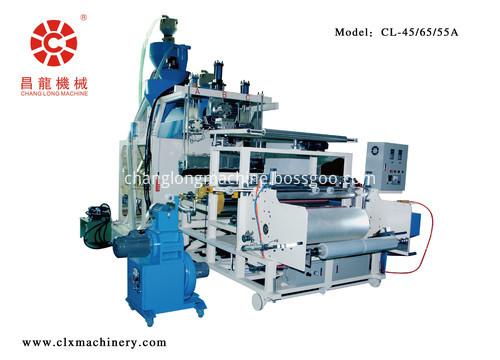 automatic roll change winding stretch film machine