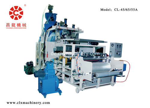 automatic roll change winding stretch film machine