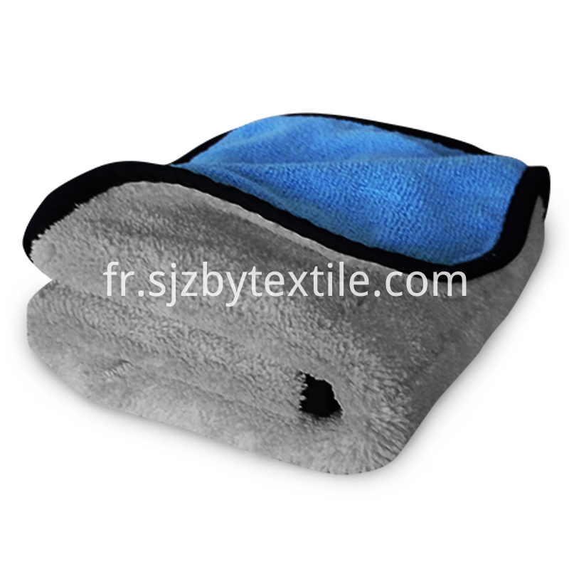 1000gsm Microfiber Car Buffing Towel