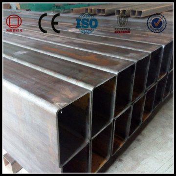 Black Square Hollow Section Carbon Steel Pipe