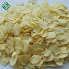 China dehydrierte organische Knoblauchflocken des Gemüses