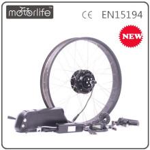 Approvisionnement d'usine / OEM 36V500W facile installer kit de roue avant vélo électrique