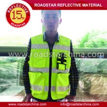 Reflective vest for traffic safety