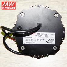 MEAN BEM 160 W Rodada LED Driver 48 V Tensão Constante IP 67 Alta Bay Iluminação HBG-160-48A