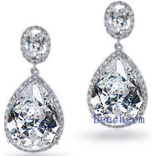 Fashion Jewellery Cubic Zirconia Earrings (E8906)