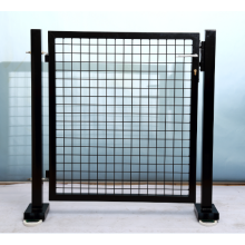 Best quality and factory for Chain Link Fence Garden Metal Fence Gate export to Spain Manufacturers