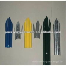 W Pale Palisade Fence, PVC Euro-style guard fence