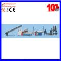 Machine de réutilisation en plastique de double-axe de film de PE pp SJ-160/140