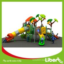 EN1176 LLDPE & Steel Tube Material Équipement de jeu de plein air pour les enfants d'âge préscolaire