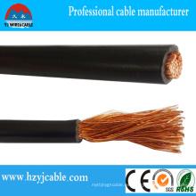 Cable de soldadura de caucho, Cable eléctrico,, Conductor de cobre