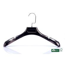 Belo acabado venda quente cabide plástico garment hanger