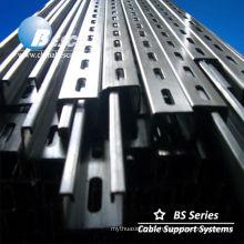 Unistrut Steel C Channel riel galvanizado(UL cUL NEMA)