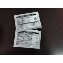 Lingettes EZ compatibles saturées avec une solution de nettoyage IPA