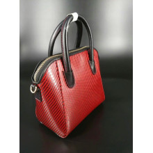 Customized for Carbon Fiber Shoulder Bag Kevlar material women handbag export to South Korea Wholesale