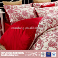 egyption cotton feather printed bedding set